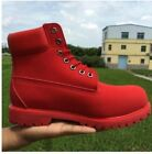 Chic Men Combat Lace Up Casual Military Punk Work High Top Motor Army Boot Shoes