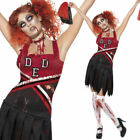 Adult High Cheerleader zombie dressing up halloween costume outfit undead horror