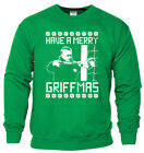 Funny Merry Griffmas Celtic Leigh Griffiths Football Xmas Party Jumper All Sizes