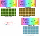 """50 - 3/4""""  Vitreous Glass Mosaic Tiles  for your Mosaic Projects"""