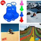 Sports Winter Thicken Plastic Grass Skiing Pad Sled Board Snow Snowboard