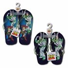 Flip Flops Beach Sandal Toy Story Buzz Woody Toddler Child Size 5-8 NEW