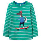 Joules Boys Top Green Wolf YngJack