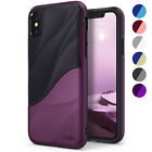 For iPhone X / XS | Ringke [WAVE] Shockproof PC TPU Dual Layer Design Case Cover