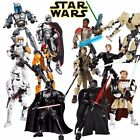 Star Wars Jyn Erso Captain Phasma K-2SO Finn Rey Luke Custom Lego Action Figures $25.7 CAD
