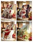 Christmas Blankets Luxury Super Soft Warm Fleece Throws Ideal Gifts New Presents