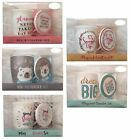 Ceramic Mug & Drinks Coaster Boxed Cup Drink Gift Set