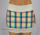 NEW LULULEMON Hotty Hot Skirt 6 Run Wee Wheezy Check NWT Plaid FREE SHIP