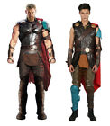 XCOSER Updated Odinson Thor Cosplay Costume King of Asgard Fight Suit Halloween