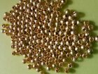 50, 100 or 200pcs 3mm Gold Plated GP stardust ball spacer beads findings