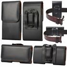 LEATHER WAIST BELT HOLSTER CLIP POUCH CASE FOR SAMSUNG S8 PLUS S7 S6 EDGE NOTE 8
