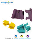 2Pcs EASYINSMILE Dental Bite Block Autoclavable Silicone Mouth Props Adult/Child
