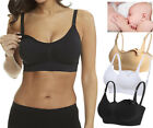 New Seamless Nursing Maternity Bras Breastfeeding Removable Pads Comfortable Cup
