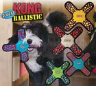 Kong Ballistic Gliderz - Durable Dog Puppy Fetch Toy Frisbee - Also Squeaks