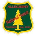 Allegheny National Forest Sticker R3194 Pennsylvania You Choose Size