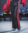 Finden and Hales Ladies Contrast Track Pants Tracksuit Elasticated Waist