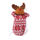 Merry Christmas Santa Claus Bear Apple Bags Gift Candy Storage Bag Ornaments