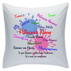 "Personalised White Cushions 18"" - Disney - Sleeping Beauty"