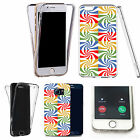 Shockproof 360° Silicone Clear case cover for many mobiles - design ref zx0916
