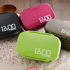 Portable 2 Layers Lunch Box Bento Food Container Tableware Microwave Japan Style