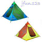 4 Person Pyramid Tent Tipi Indian Type Camping Hiking Festival Family Group Tent
