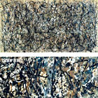 """60W""""x32H"""" NUMBER 31, 1950 by JACKSON POLLOCK - EXPRESSIONISM CHOICES of CANVAS"""
