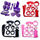 7pcs/set-Adult-Sex-SM-Toys-Handcuffs-Cuffs-Strap-Whip-Rope-Neck-Bandage-Sexy-SM