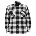 DICKIES NEW Mens Sacramento Shirt Black/White BNWT
