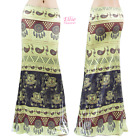 Women's LONG SKIRT Elephant Paisley Sublimation Maxi (S/M/L/XL/1XL/2XL/3XL)