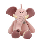 Elephant Plush Toy Stuffed Pink &Gray Play Kids Soft Doll- Christmas Gift