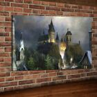 HD Print Harry Potter Hogwarts Castle Art Home Wall Decor Oil Painting on Canvas