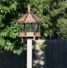 Large Spindle Gazebo Bird Feeder Poly Amish Homemade Handcrafted