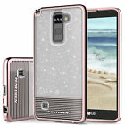 BENTOBEN Shockproof Hybrid Bling Glitter Phone Case For LG Stylus 2 Plus / LS775