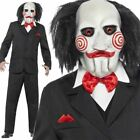 Men's Saw Jigsaw dressing up costume male adult Halloween Horror outfit official