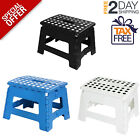 Folding Stool Step Plastic Chair Shower Bath Seat Portable Bathroom Spa Camping