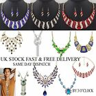 Fashion Chunky Statement Charm Pendant Chain Crystal Jewelry Choker Necklace New