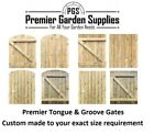 Made To Measure Wooden Garden Gate Tongue Groove Treated Sizes From 900 To 1200