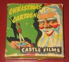 Vintage Castle Films 8mm Christmas Cartoon Film ~ Headline Edition