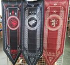 "Game of Thrones Lannister Targaryen Stark House Flag 58"" Tournament Banner"