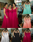 Formal Chiffon Evening Bridesmaid Dresses Party Ball Prom Gown Stock size 6-16