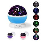 Baby Night Light Moon Star Projector 360 Degree Rotation w/USB Cable Gift