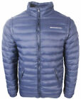 Mens New Crosshatch Two In one Zip Off Navy Jacket