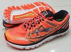 New Brooks Transcend Comfortable Float Running Shoes Sneakers Fiery Coral Mens