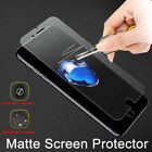 Frosted Matte Tempered Glass Screen Protector For iPhone X 8 6 6s Plus 7 Plus