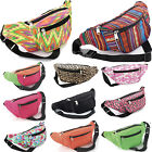 BUM BAG FANNY PACK POUCH TRAVEL FESTIVAL WAIST BELT GIRLS HOLIDAY MONEY WALLET