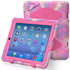 Shockproof Kids Heavy Duty Protective Case Hard Stand For iPad 234 Tablets NEW