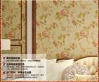 American Rural Style Thick 3D Non-woven Living Room TV Background Wallpaper 5.3㎡
