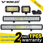 WOW - 72W 126W 144W 5D Lens CREE LED Light Bar Flood Spot Combo Driving Lamp 4X4