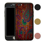 Paisley 360° Full Body Shockproof Case & Tempered Glass Cover For iPhone - T2694