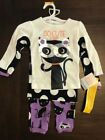 NWT Carter's Just One You Halloween Pajamas So Cute it's Scary Cat 4pc Set